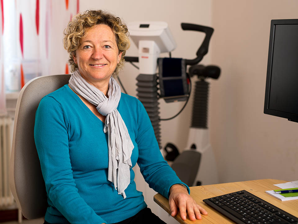 Elisabeth Mittendorfer in der  Praxis Dr. Michael Huber, Internist - Interne Medizin, Kirchdorf an der Krems